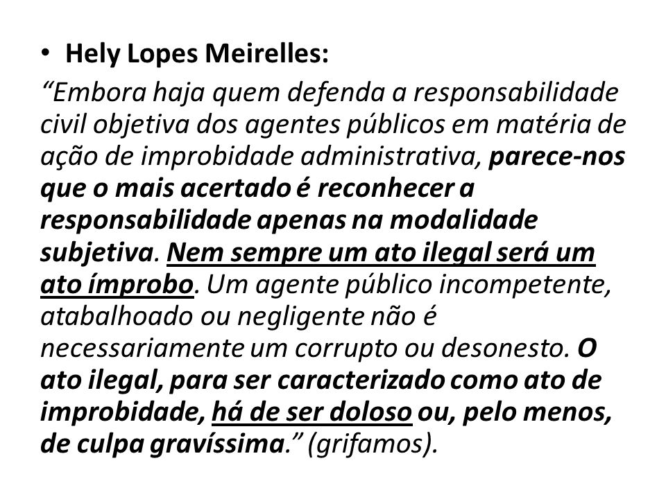 Hely Lopes Meirelles: