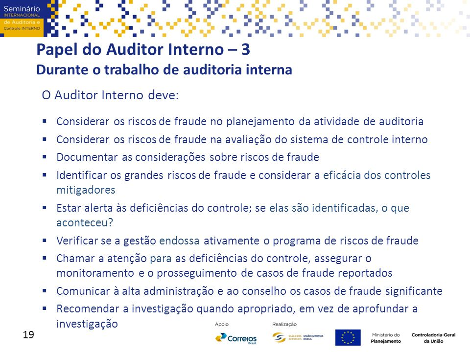 Papel do Auditor Interno – 3