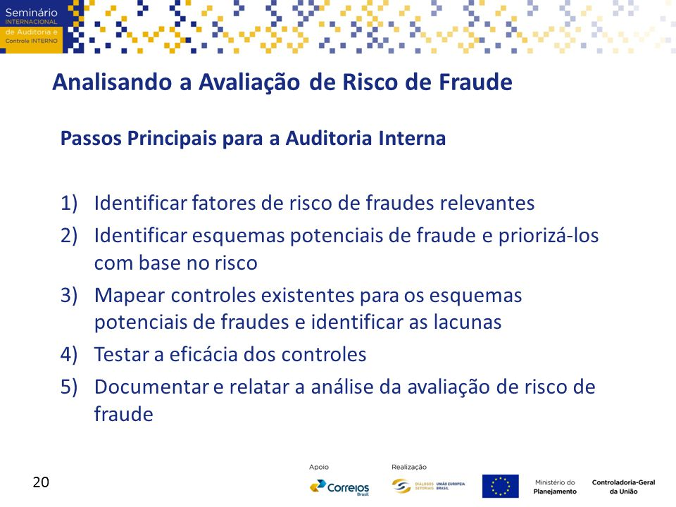 Analisando a Avaliação de Risco de Fraude