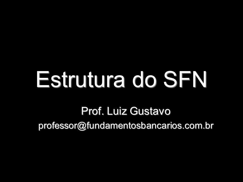 Prof. Luiz Gustavo professor@fundamentosbancarios.com.br