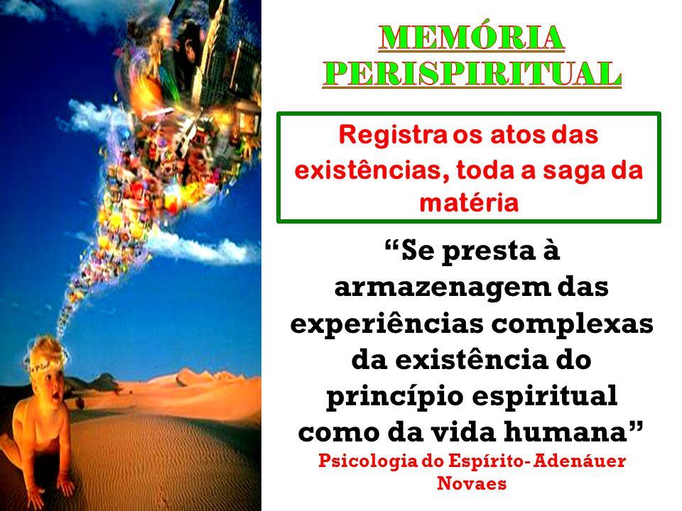 MEMÓRIA PERISPIRITUAL