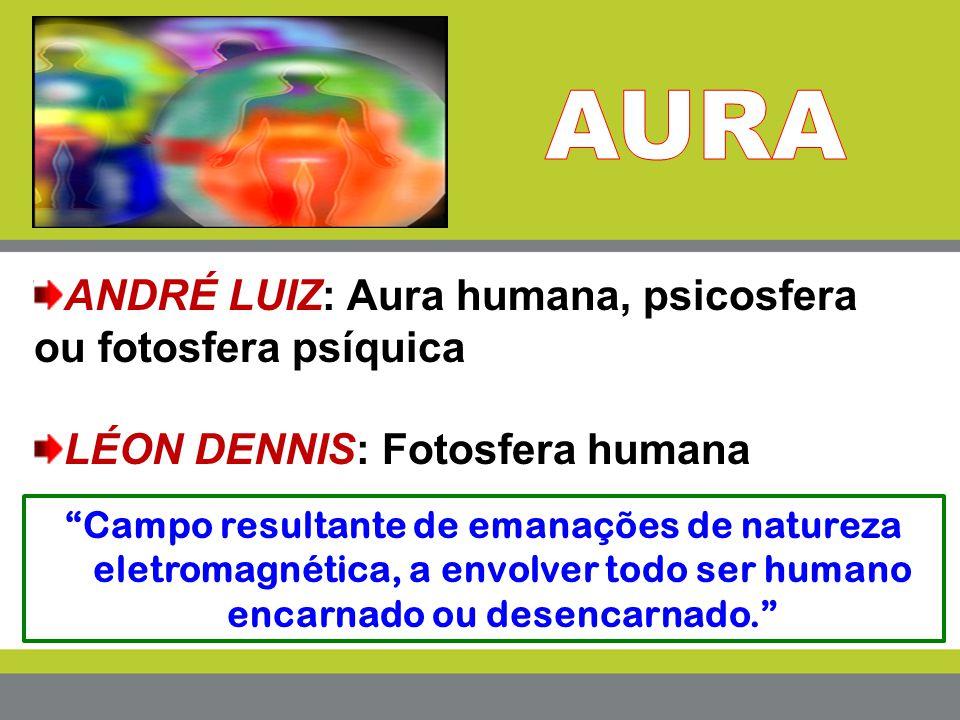 AURA ANDRÉ LUIZ: Aura humana, psicosfera ou fotosfera psíquica