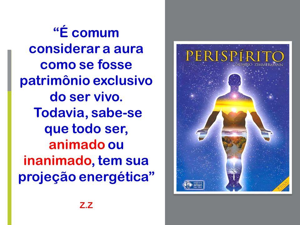 É comum considerar a aura como se fosse patrimônio exclusivo do ser vivo.