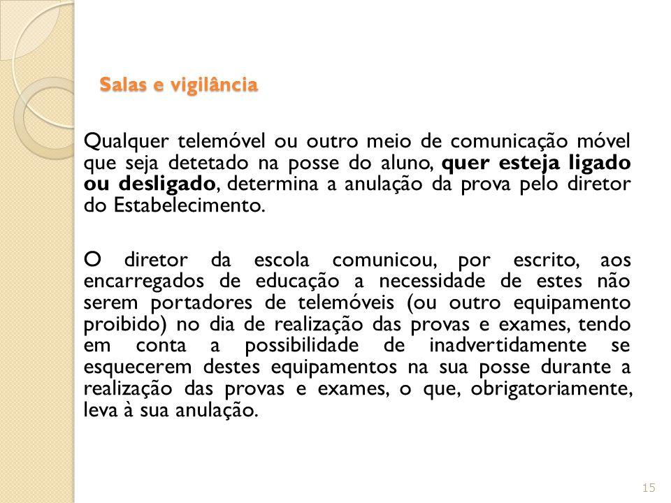 Salas e vigilância