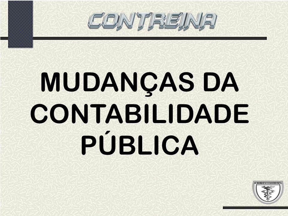 MUDANÇAS DA CONTABILIDADE PÚBLICA