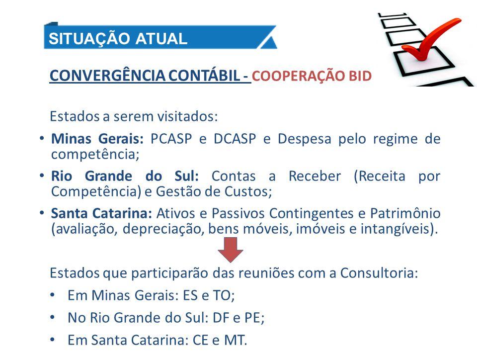 CONVERGÊNCIA CONTÁBIL - COOPERAÇÃO BID