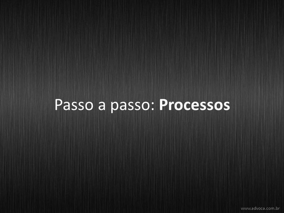Passo a passo: Processos