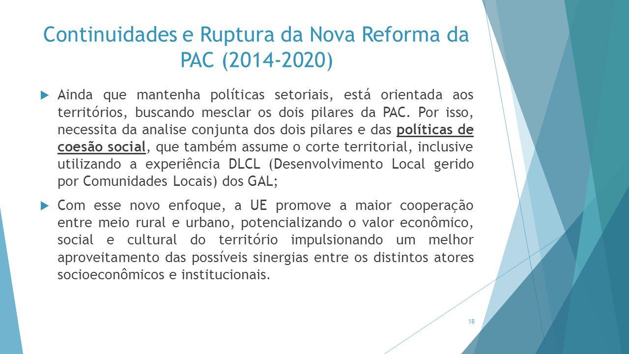 Continuidades e Ruptura da Nova Reforma da PAC (2014-2020)