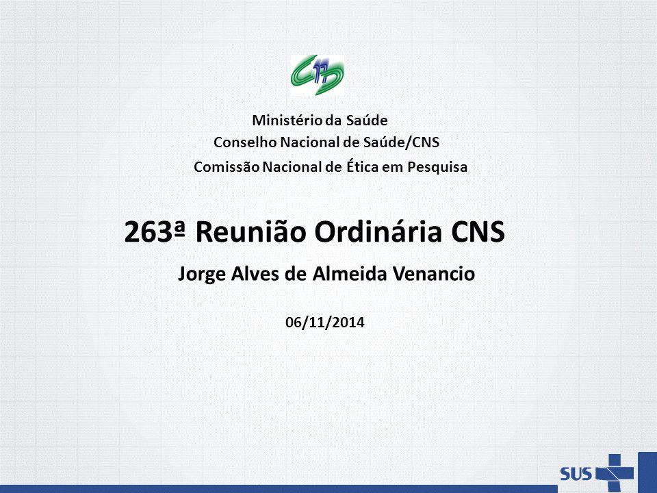 Conselho Nacional de Saúde/CNS