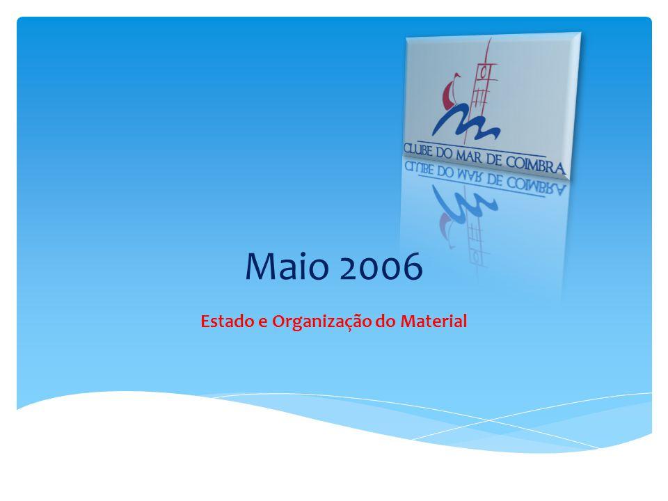 Estado e Organização do Material