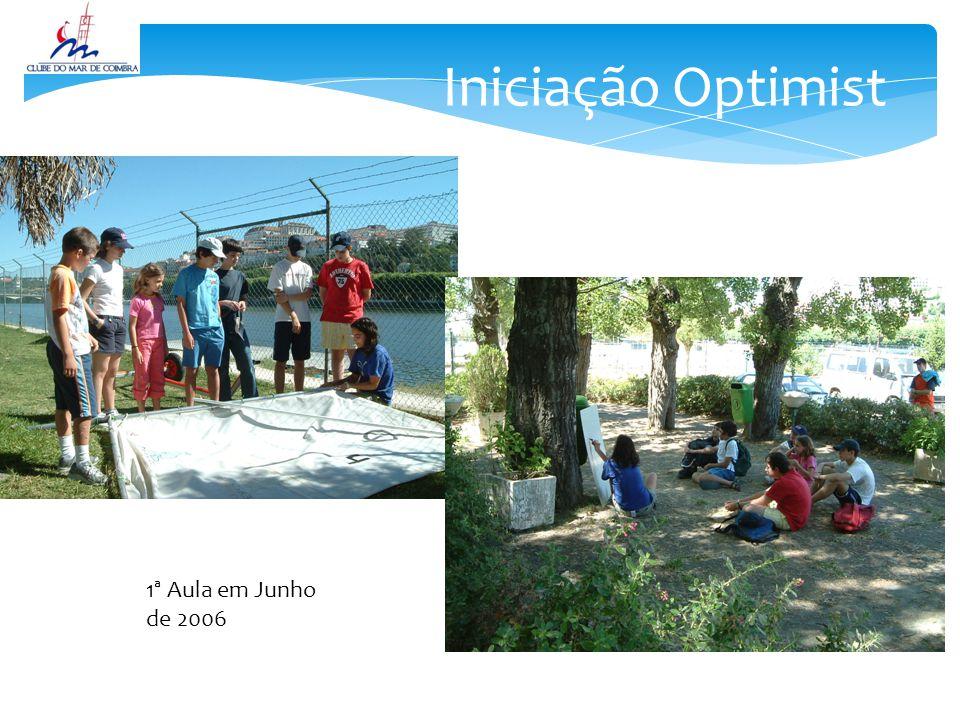 Iniciação Optimist 1ª Aula em Junho de 2006