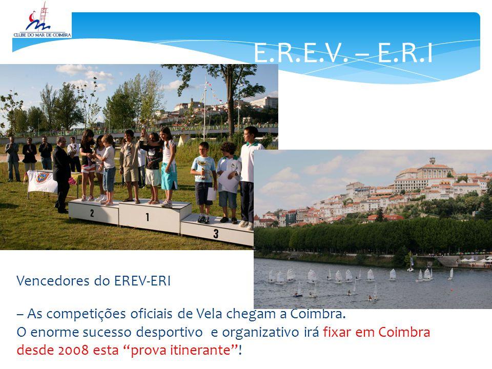 E.R.E.V. – E.R.I Vencedores do EREV-ERI