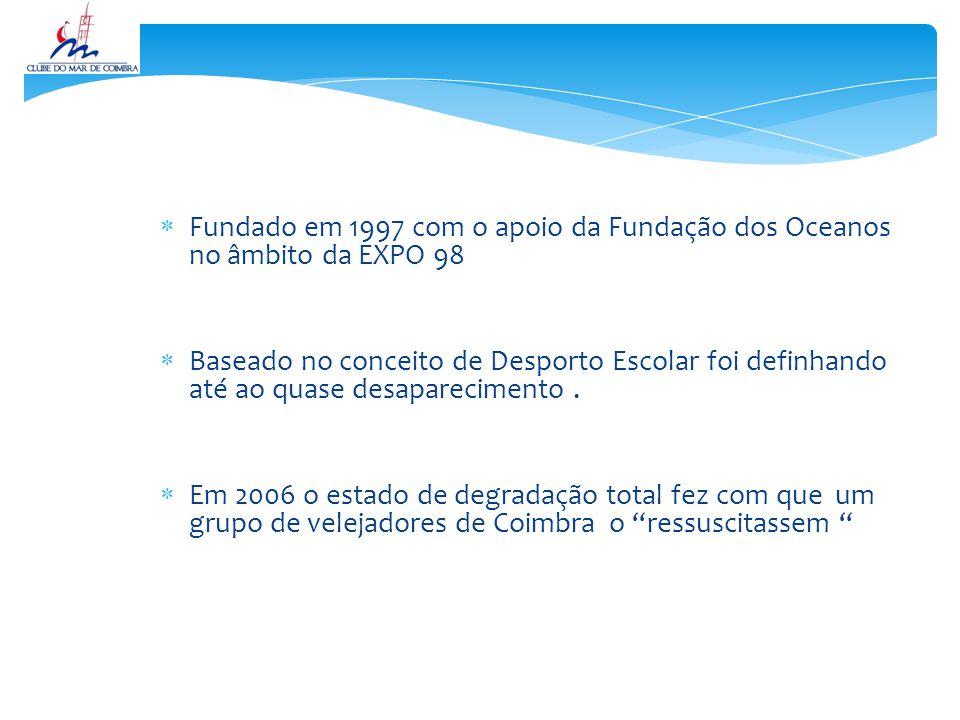 Fundado em 1997 com o apoio da Fundação dos Oceanos no âmbito da EXPO 98