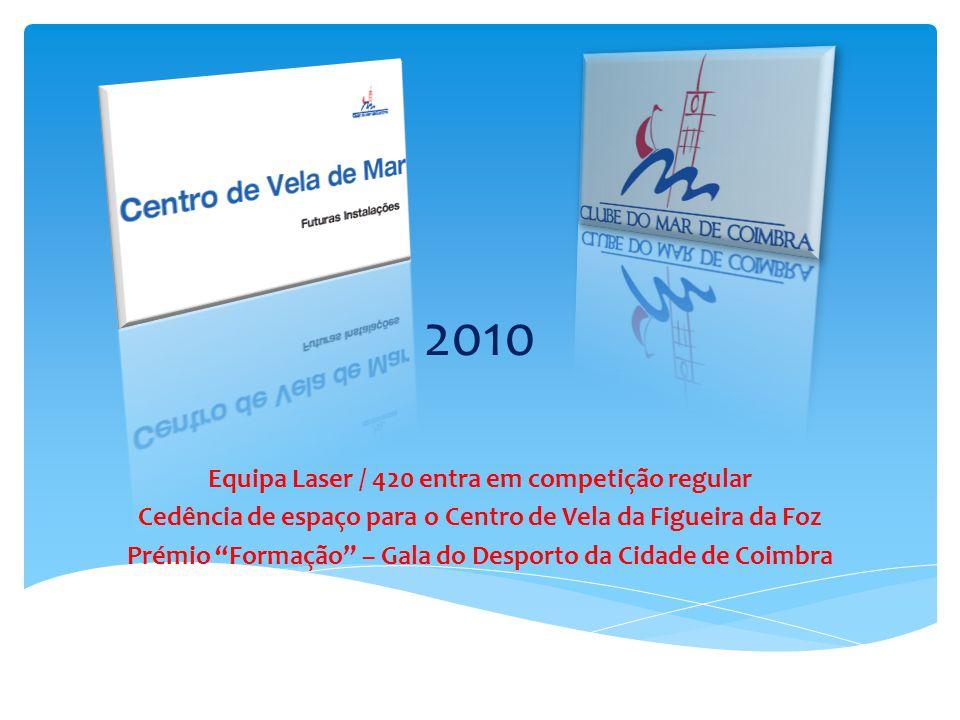 2010 Equipa Laser / 420 entra em competição regular
