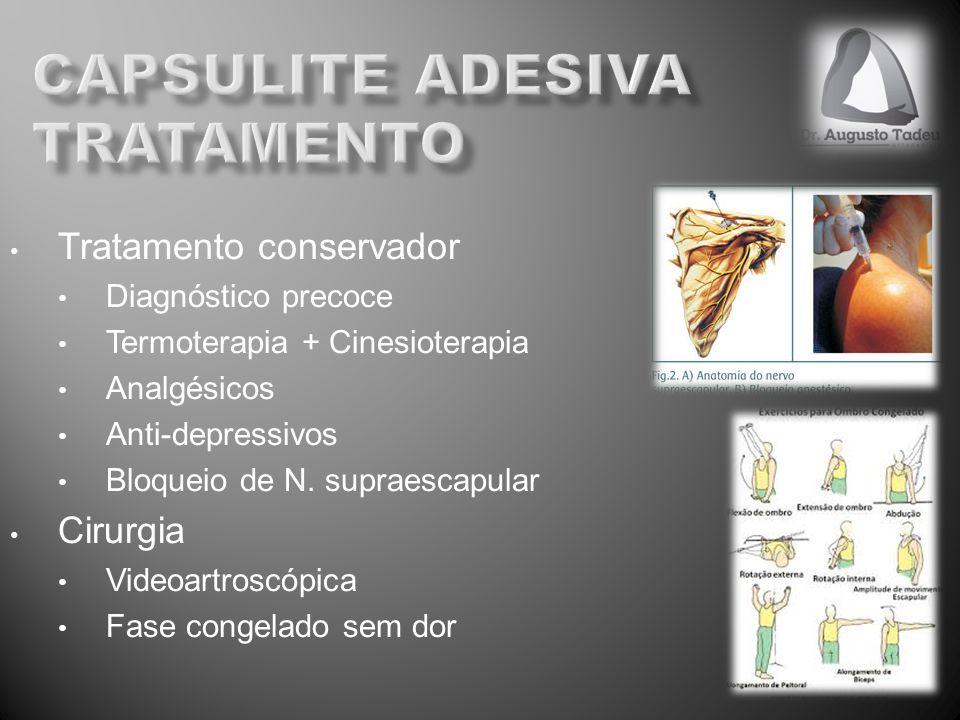 capsulite adesiva tratamento