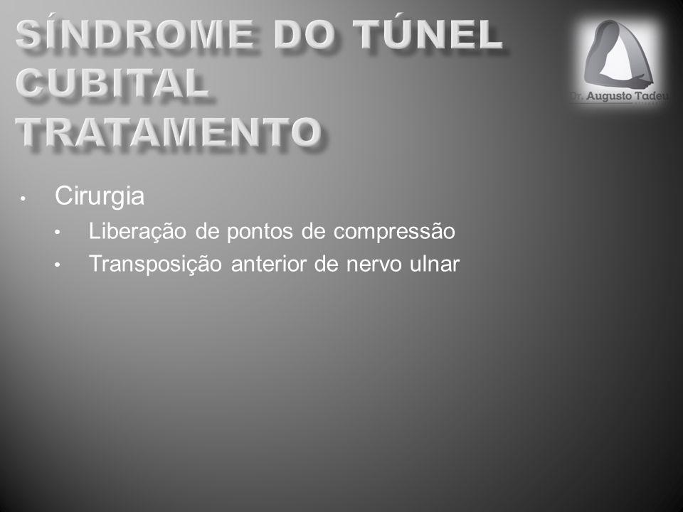 síndrome do túnel cubital tratamento