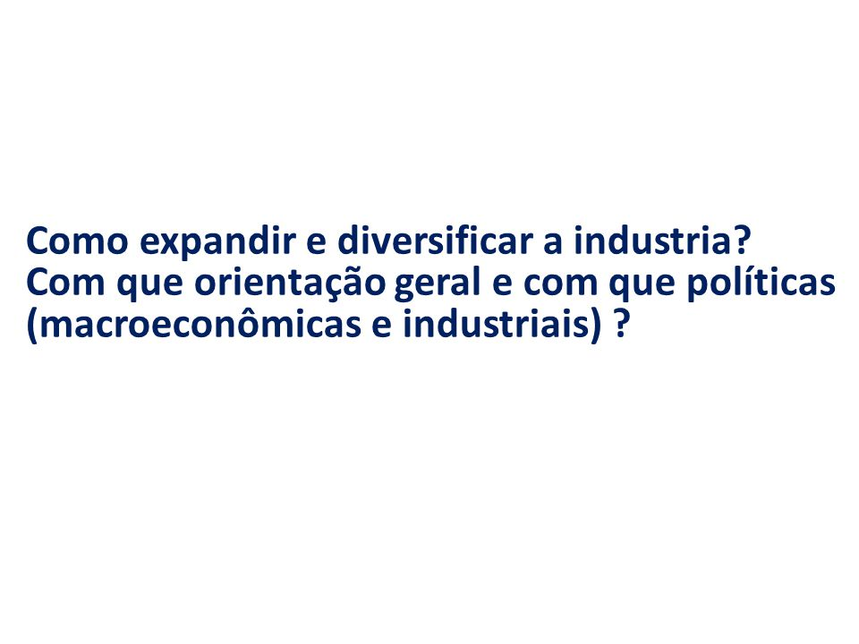 Como expandir e diversificar a industria