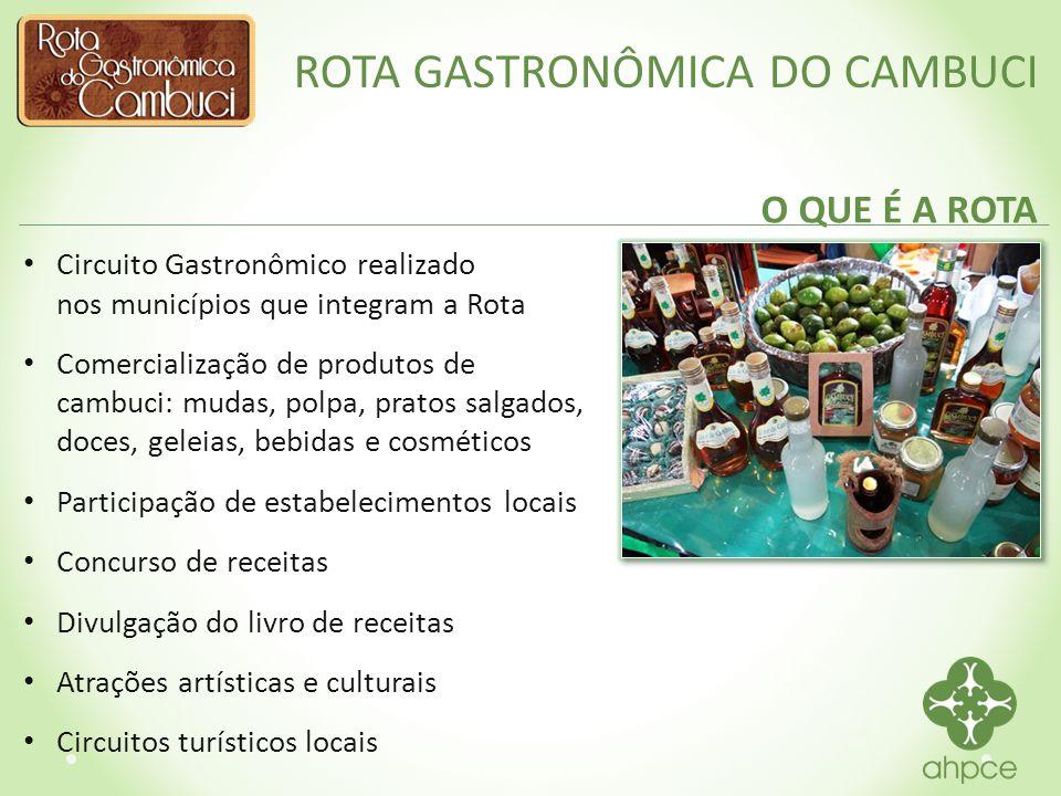 ROTA GASTRONÔMICA DO CAMBUCI