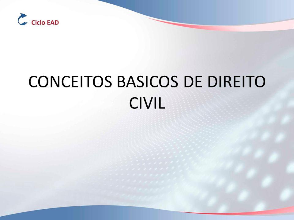 CONCEITOS BASICOS DE DIREITO CIVIL