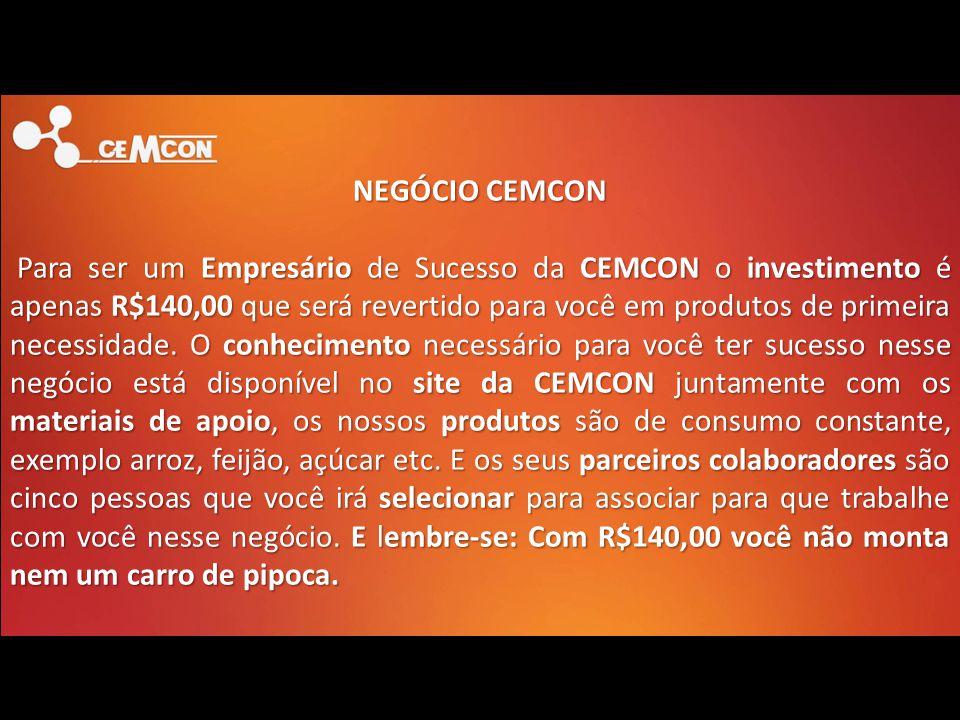 NEGÓCIO CEMCON