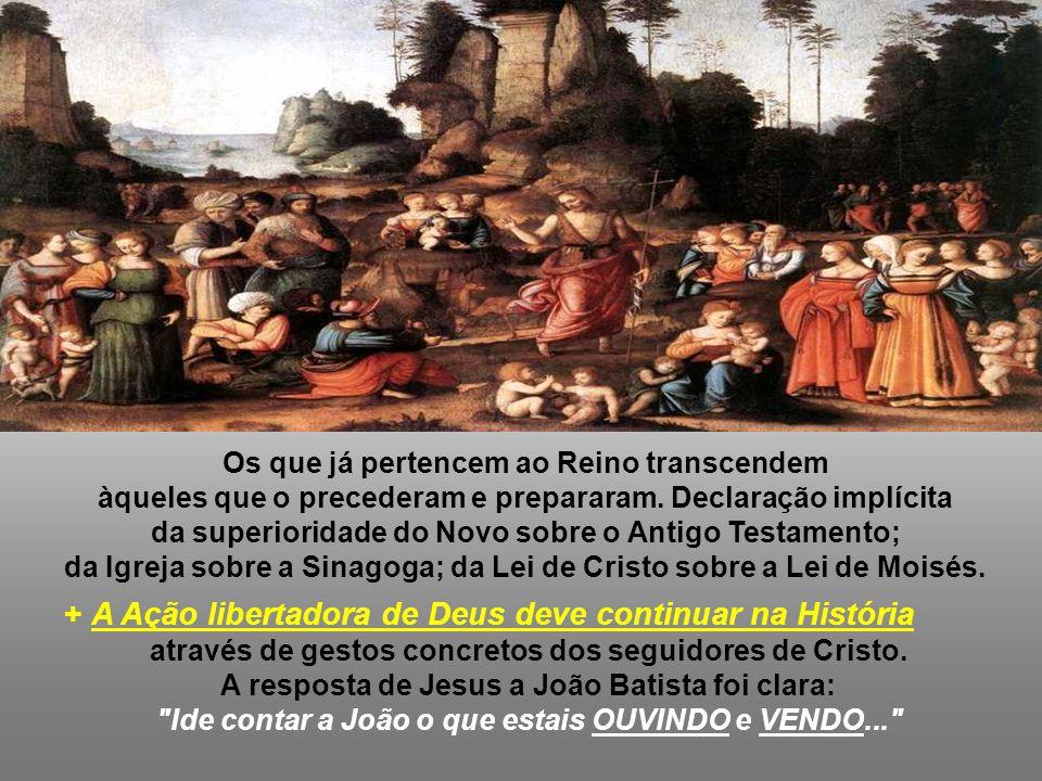 + A Ação libertadora de Deus deve continuar na História