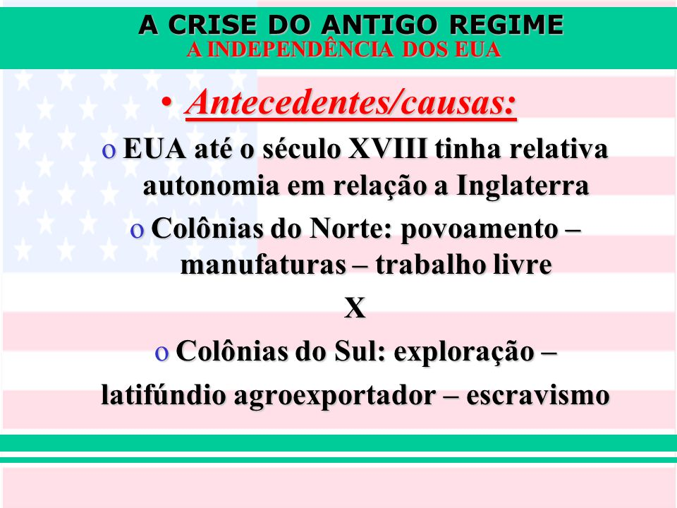 Antecedentes/causas: