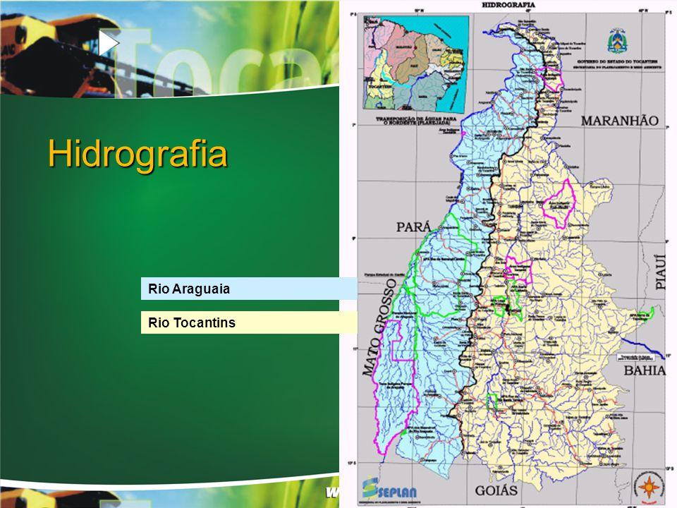 Hidrografia Rio Araguaia Rio Tocantins