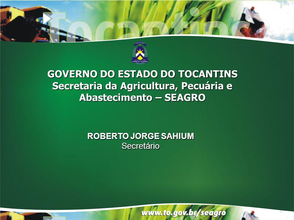 Secretaria da Agricultura, Pecuária e Abastecimento – SEAGRO