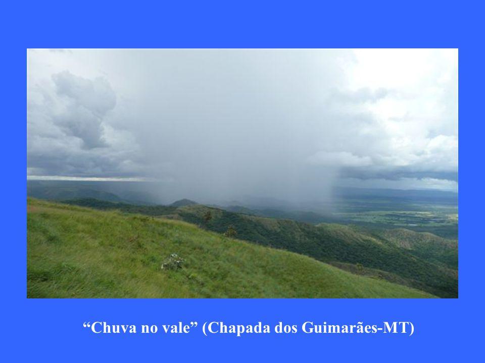 Chuva no vale (Chapada dos Guimarães-MT)