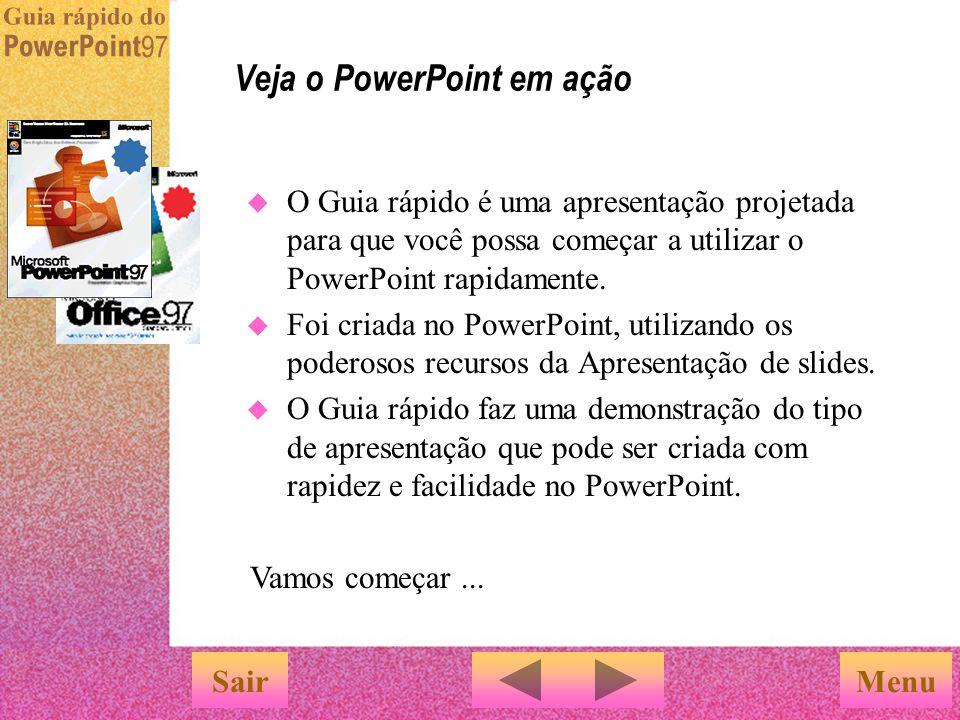 Veja o PowerPoint em ação