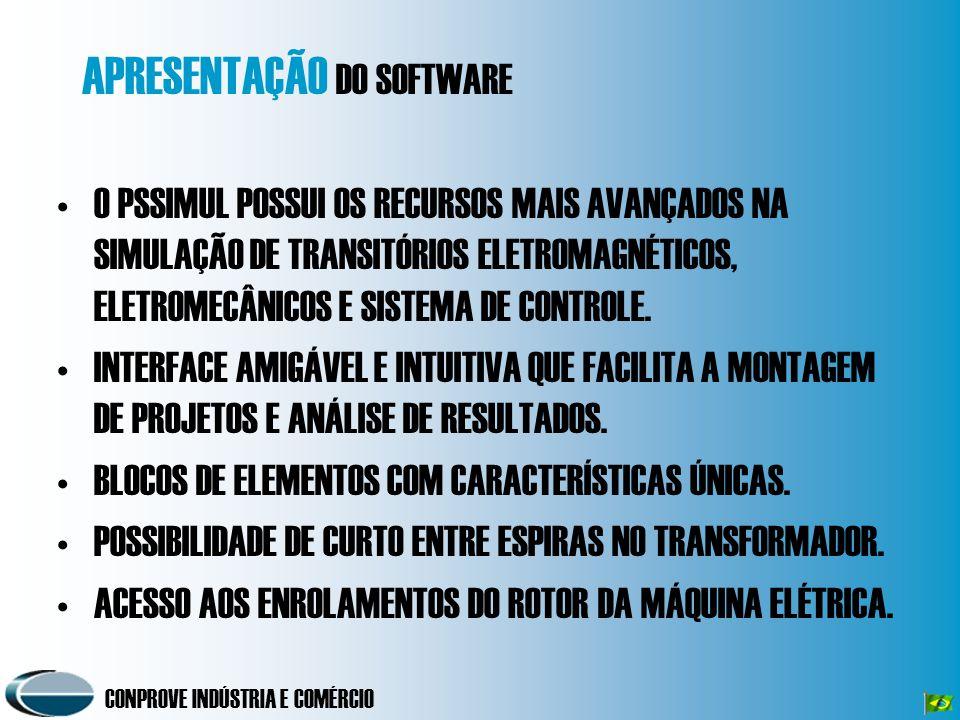 PS Simul POWER SYSTEM SIMULATOR - SOFTWARE PARA MODELAGEM DO SISTEMA DE POTÊNCIA E SIMULAÇÃO DE TRANSITÓRIOS ELETROMAGNÉTICOS.
