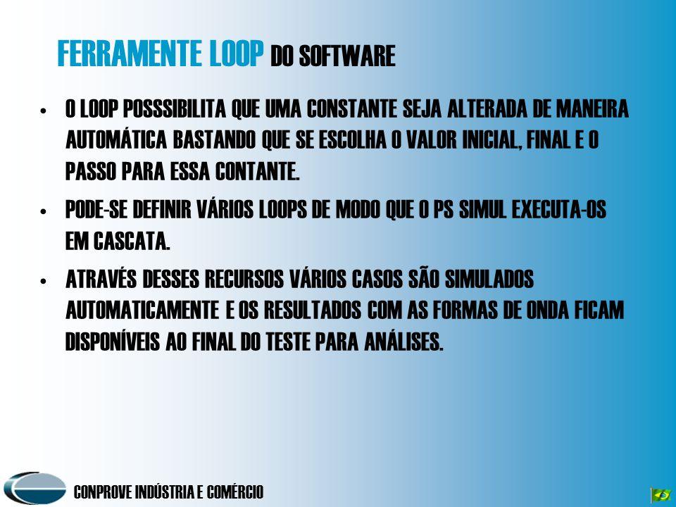 TELA DE LOOP DO SOFTWARE