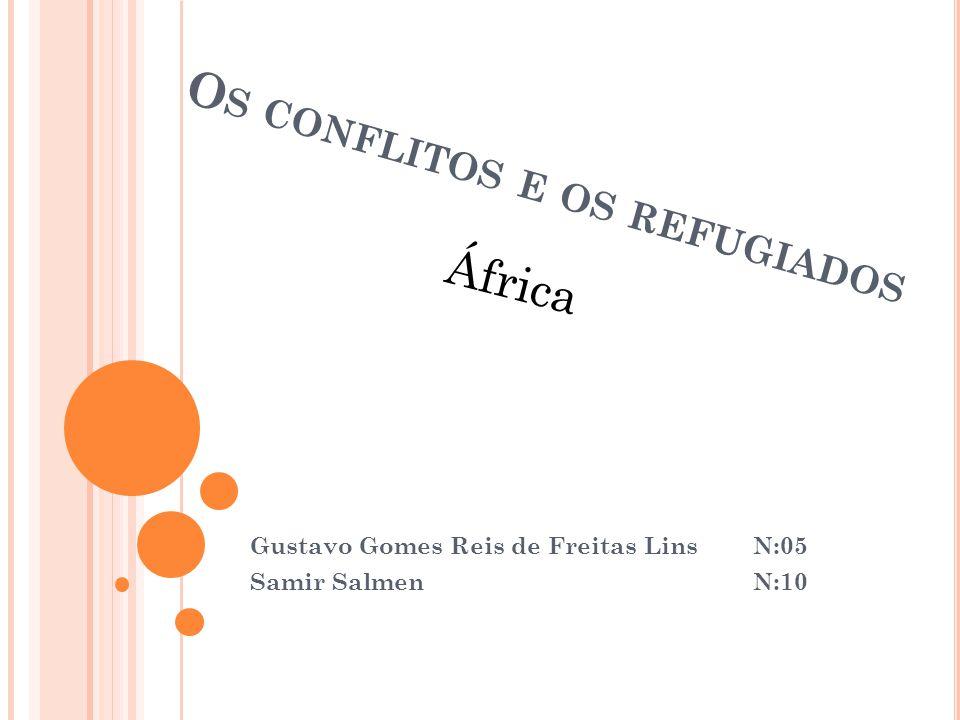 Os conflitos e os refugiados
