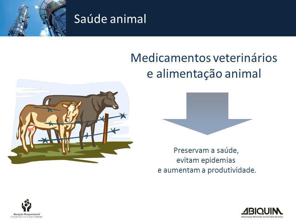 Medicamentos veterinários e alimentação animal
