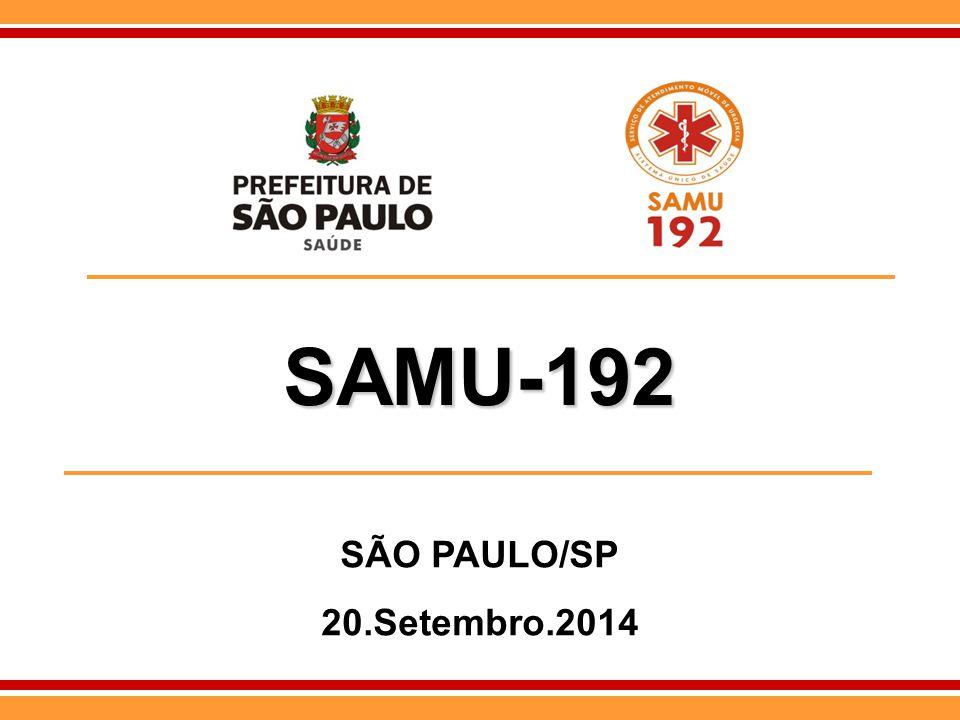 SAMU-192 SÃO PAULO/SP 20.Setembro.2014