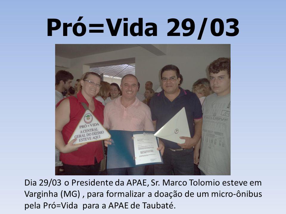 Pró=Vida 29/03