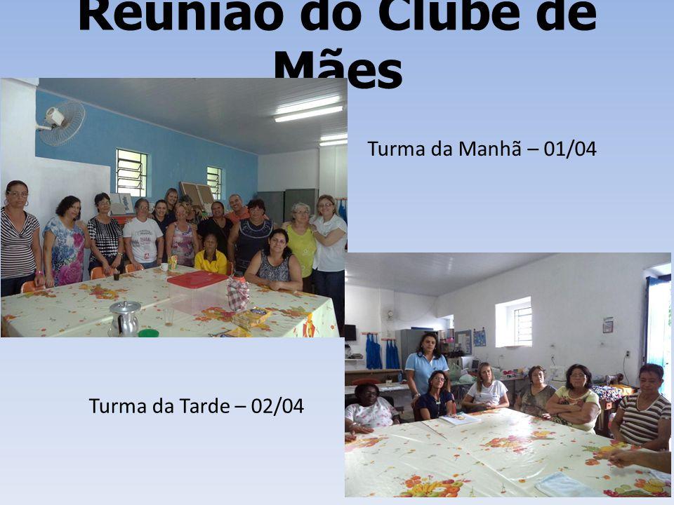 Reunião do Clube de Mães