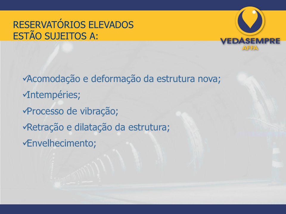 RESERVATÓRIOS ELEVADOS ESTÃO SUJEITOS A: