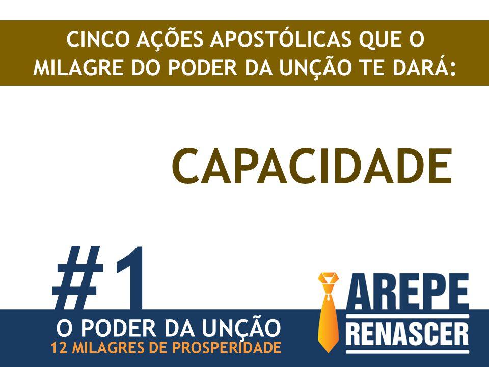 CINCO AÇÕES APOSTÓLICAS QUE O MILAGRE DO PODER DA UNÇÃO TE DARÁ: