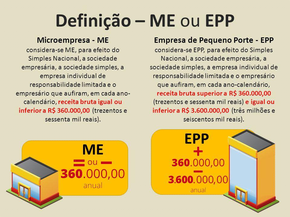 Empresa de Pequeno Porte - EPP