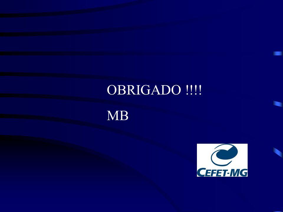 OBRIGADO !!!! MB