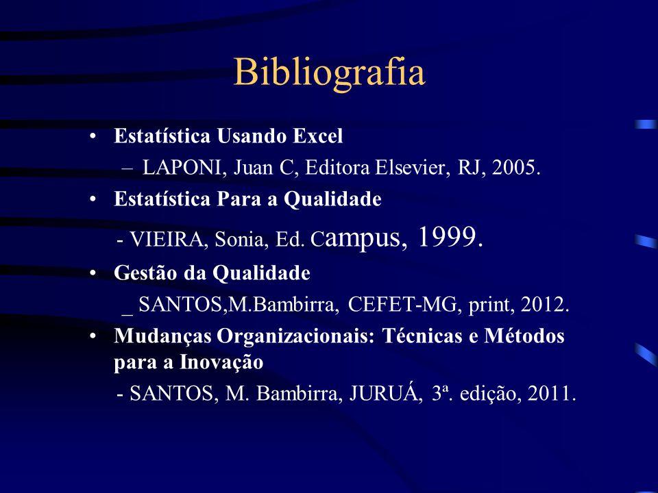 Bibliografia Estatística Usando Excel