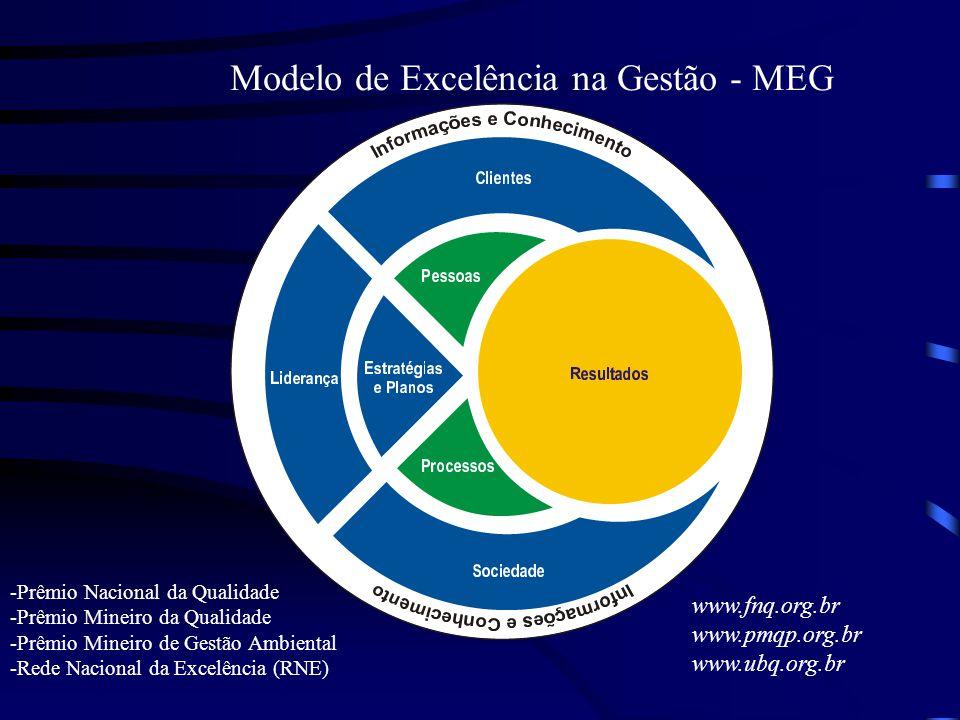 Modelo de Excelência na Gestão - MEG