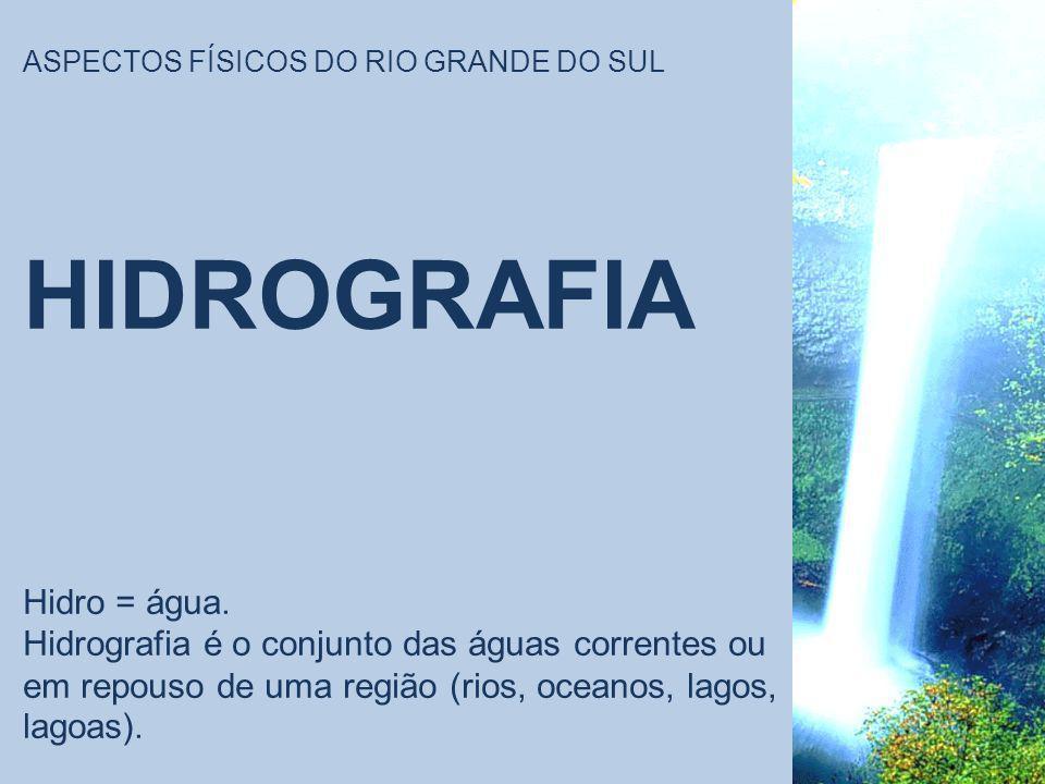 ASPECTOS FÍSICOS DO RIO GRANDE DO SUL