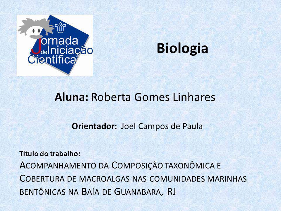 Biologia Aluna: Roberta Gomes Linhares