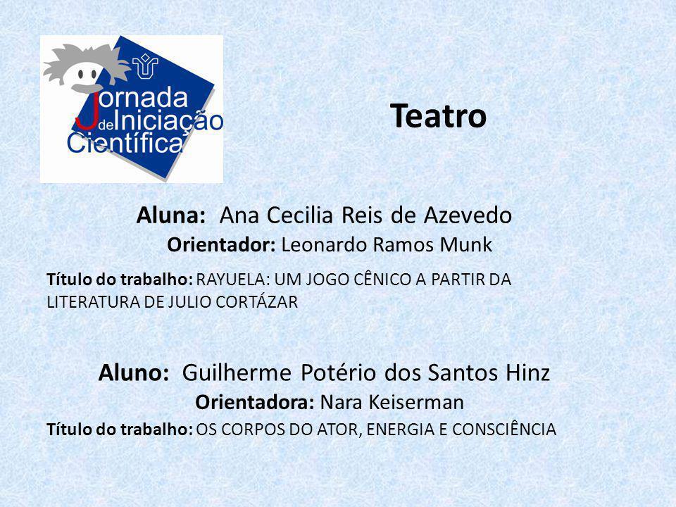 Teatro Aluna: Ana Cecilia Reis de Azevedo