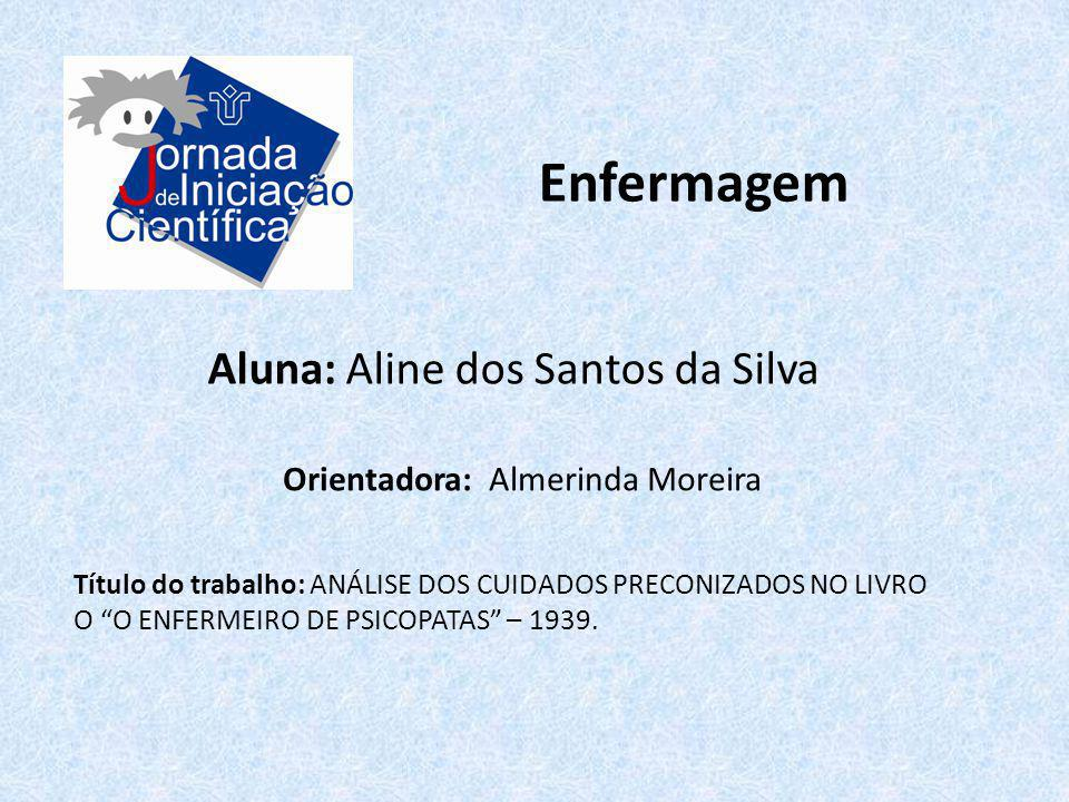Enfermagem Aluna: Aline dos Santos da Silva