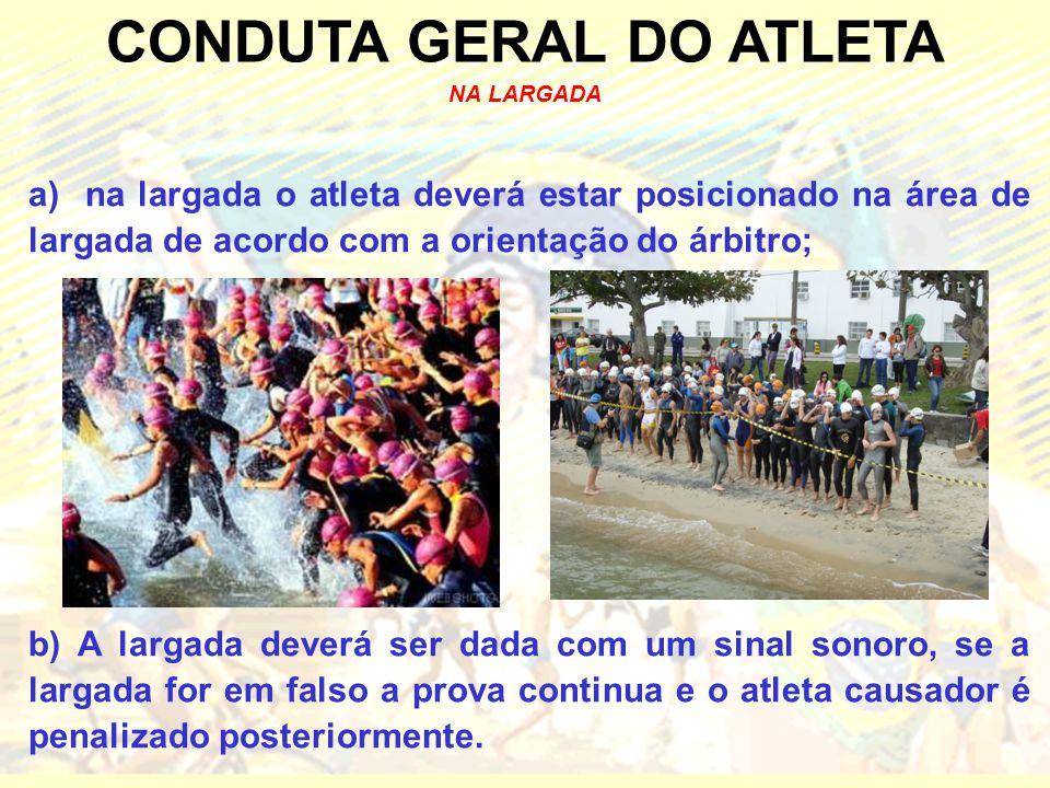 CONDUTA GERAL DO ATLETA