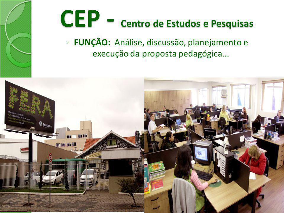 CEP - Centro de Estudos e Pesquisas