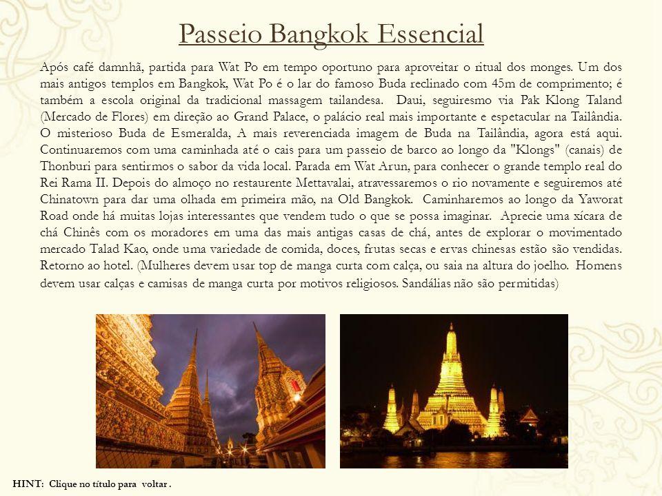 Passeio Bangkok Essencial